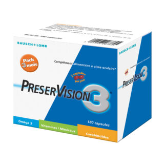 preservision3 capsules 180 jours