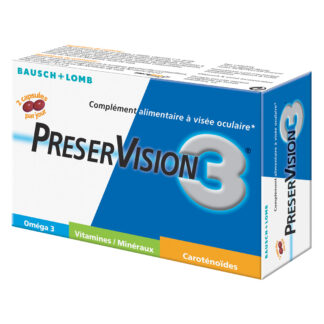 preservision3 capsules 30 jours